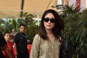 Kareena Kapoor Khan Sports a Laid Back Look At the Airport