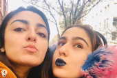 Sara Ali Khan Sports Blue Lipstick because It's All Normal in New York