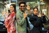 Ananya Panday, Kartik Aaryan And Bhumi Pednekar Are Goofy During Promotions