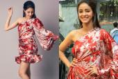 Ananya Panday Gives Her Silk Dress A Twist With Statement Kicks