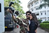 Kartik Aaryan, Ananya Panday And Bhumi Pednekar Are Goofy During Shoot