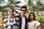 Kartik Aaryan, Bhumi Pednekar And Ananya Panday Are Stunning During Promotions