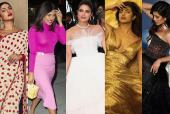 Priyanka Chopra's 5 Big Fashion Moments of 2019
