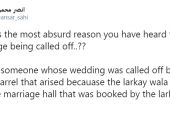 Netizens Share Bizarre Reasons for Weddings Being Called Off