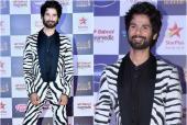 Shahid Kapoor Makes Major Fashion Faux Pas In Zebra Print Suit