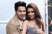 Varun Dhawan And Shraddha Kapoor At A Dance Show