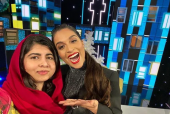 Malala Tells Lilly Singh That She Gets Schooled By Her Parents Just Like Others Her Age