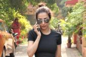 Malaika Arora Steps Out For Yoga In Black