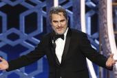Golden Globes 2020: Joaquin Phoenix Calls Out Hollywood's Hypocrisy