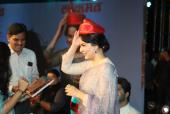 Kangana Ranaut Looks Ethereal in Sari For Panga Music Launch