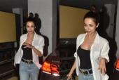 Malaika Arora Sports an Effortlessly Chic Kook while Out and About