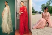 Deepika Padukone, Alia Bhatt and Priyanka Chopra Sport the Same Sabyasachi Sari: Who Wore it Better?