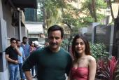 Saif Ali Khan and Alaia Furniturewala promote Jawaani Jaaneman