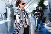 Rihanna's Latest Airport Look is Proof She Isn't Suffering from Break Up Blues