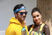 Shraddha Kapoor and Varun Dhawan in Quirky Outfits