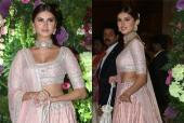 Watch Tara Sutaria Sing a Beautiful Song for Armaan Jain and Anissa Malhotra at Their Wedding