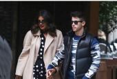 Priyanka Chopra, Nick Jonas Enjoy a Low Key Valentine's Day Lunch Date in Milan