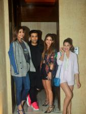 Janhvi Kapoor, Jacqueline Fernanadez and Karan Johar Among Others Attend Manish Malhotra's House Party