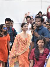 Star Spotting: Alia Bhatt, Sunny Leone and Family, Ishaan Khatter Playing Football Snapped!