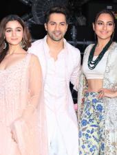 Star Spotting: Alia Bhatt-Varun Dhawan-Sonakshi Sinha, Salman Khan at the Airport and Janhvi Kapoor Papped!