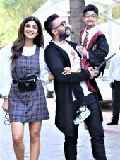 Shilpa Shetty's Son Viaan Turned 7 As Harry Potter