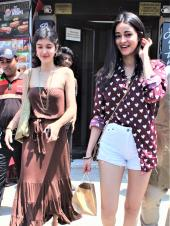 Best Friend Goals: Ananya Pandey And Shanaya Kapoor Spotted Out For Lunch