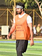 Ranbir Kapoor and Aditya Seal Spotted Playing Football