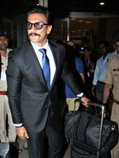 Ranveer Singh Was Spotted All Suited Up At The Airport