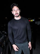 Tiger Shroff And Disha Patani Spotted Out On Dinner Date
