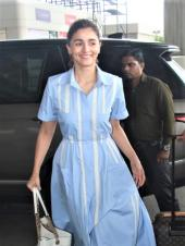 Alia Bhatt And Ranbir Kapoor Set Out For 'Brahmastra' Shoot