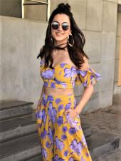 Taapsee Paanu Is A Floral Dream For The Trailer Launch Of 'Game Over'