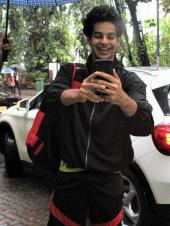Ishaan Khatter Snaps Pictures Of Paparazzi