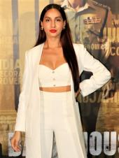 Nora Fatehi And Mrunal Thakur Steal Show At Movie Trailer Launch