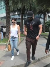 Malaika Arora and Arjun Kapoor Step Out for a Romantic Luncheon Date