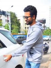 Vicky Kaushal Steps Out in a Hoodie for a Casual Look