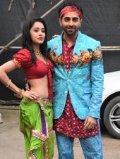 Ayushmann Khurrana and Nushrat Bharucha Amp up the Hype for Dream Girl