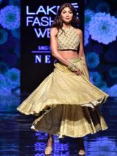 Shilpa Shetty Twirls For the Ramp in Elegant Lehenga Look