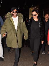 Deepika Padukone And Ranveer Singh Back In Mumbai!