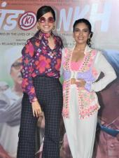 Bhumi Pednekar And Taapsee Pannu Go All Out For Trailer Launch