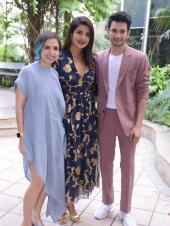 Priyanka Chopra, Rohit Saraf and Shonali Bose head out for The Sky is Pink promotions