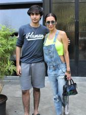 Malaika Arora And Arhaan Khan Step Out With Amrita Arora And Friends