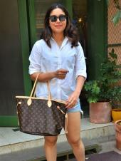 Bhumi Pednekar Spotted Out In White