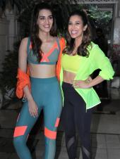 Kriti Sanon And Sophie Choudry Snapped Together
