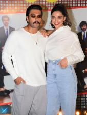 Ranveer And Deepika Celebrate With Cast And Crew Of '83' At Wrap Up Party