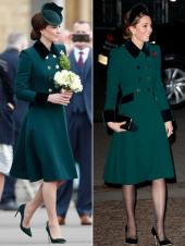 Kate Middleton isn't shy of repeating dresses - but with a twist
