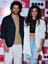 Farhan Akhtar, Rohit Saraf And More At The Premiere Of 'The Sky Is Pink'