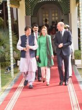 Prince William, Kate Middleton in Pakistan: The Duke and Duchess of Cambridge meet PM Imran Khan