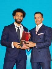 Mo Salah, Alessandra Ambrosio And Mena Massoud Rock The GQ Middle East Men Of The Year Awards 2019