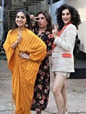 Taapsee Pannu And Bhumi Pednekar Hav eFun On Farah Khan's Show