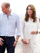 Kate Middleton Looks Stunning in White